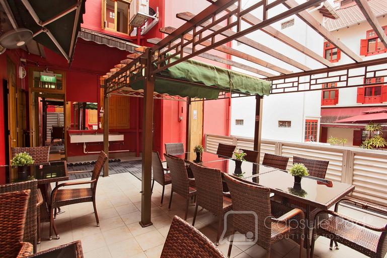 Capsule Pod Boutique Hostel, Singapore