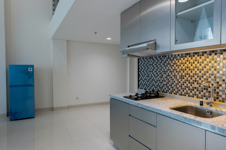 New Furnished 1BR with Sofa Bed at Brooklyn Apartment By Travelio, Tangerang Selatan