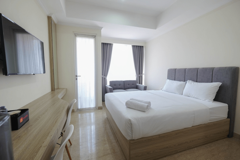 Simply Furnished Studio @ Menteng Park Apartment By Travelio, Jakarta Pusat