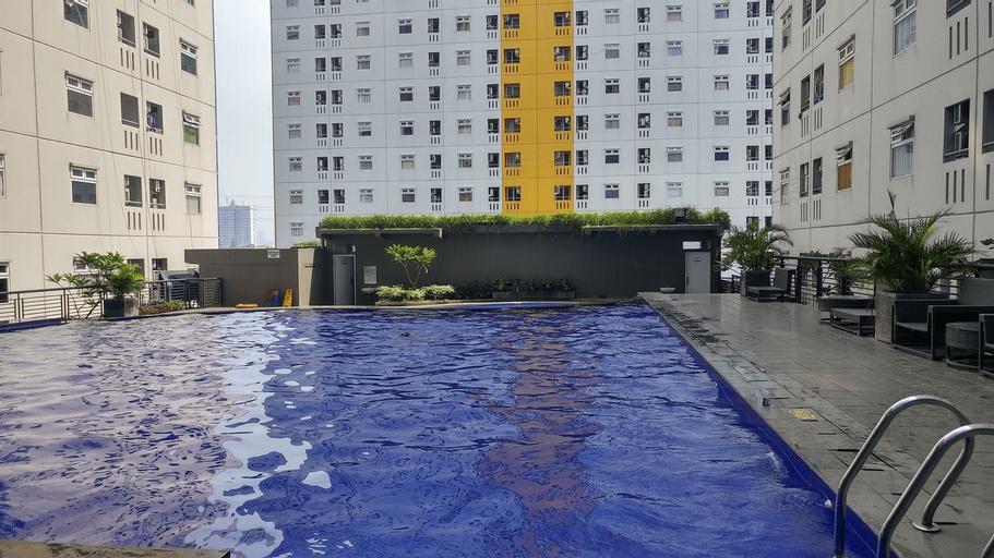 Great 2BR at Green Pramuka Apartment By Travelio, Jakarta Pusat