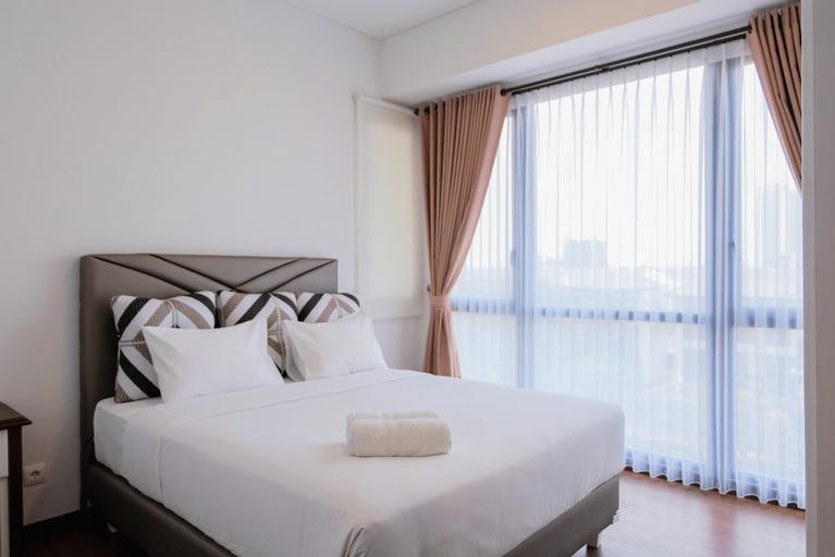 Highest Value 1BR Apartment at Marigold Nava Park By Travelio, Tangerang Selatan