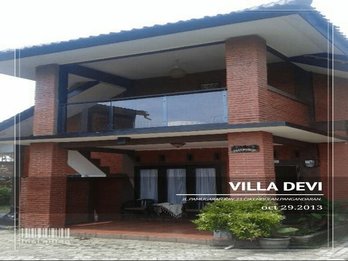 Villa Devi, Pangandaran