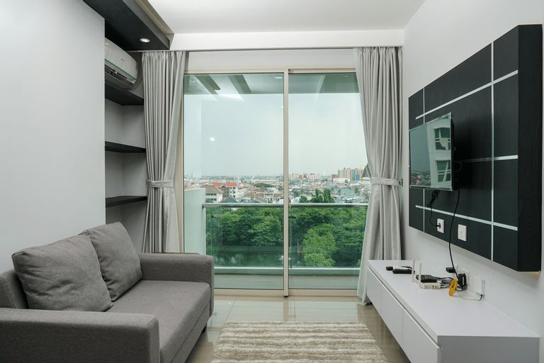 Modern 2BR Apartment at CitraLake Suites By Travelio, Jakarta Barat