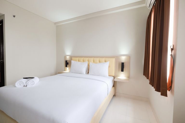 Cozy Studio with City View at Elvis Tower Apartment By Travelio, Cikarang