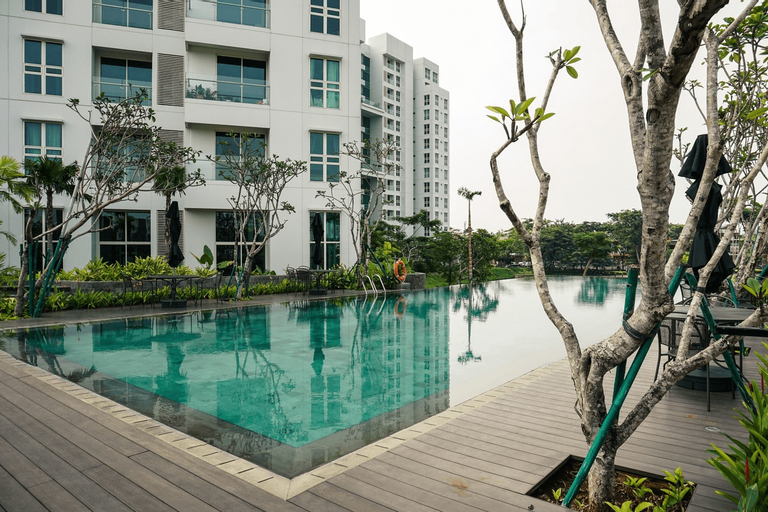 Relaxing 2BR at CitraLake Suites Apartment By Travelio, Jakarta Barat