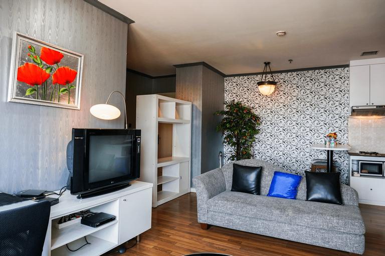 1BR with City View @ Semanggi Apartment By Travelio, Jakarta Selatan