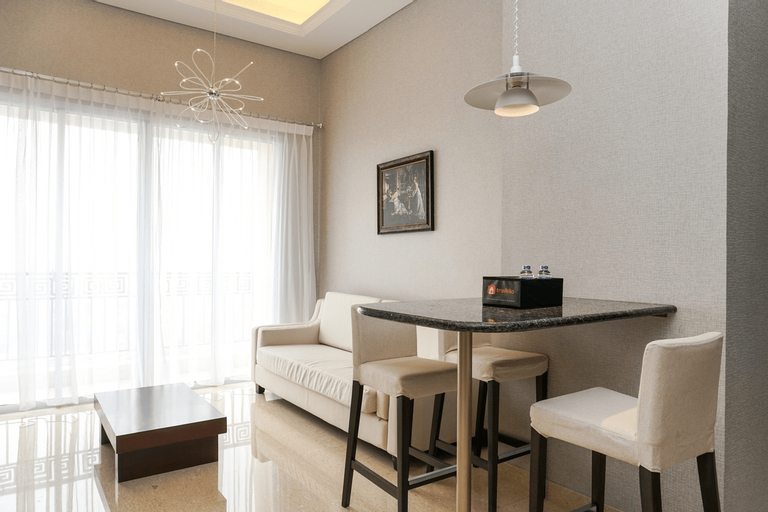 Fabulous 2BR Lucky Tower Apartment By Travelio, West Jakarta