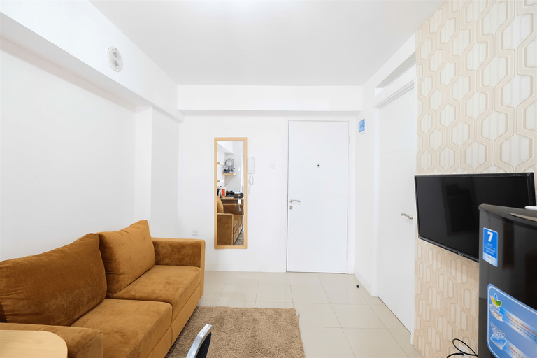 Cozy 2BR Bassura City Apartment with City View By Travelio, East Jakarta