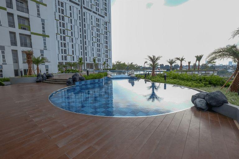 Simply Studio Akasa Pure Living BSD Apartment By Travelio, Tangerang Selatan
