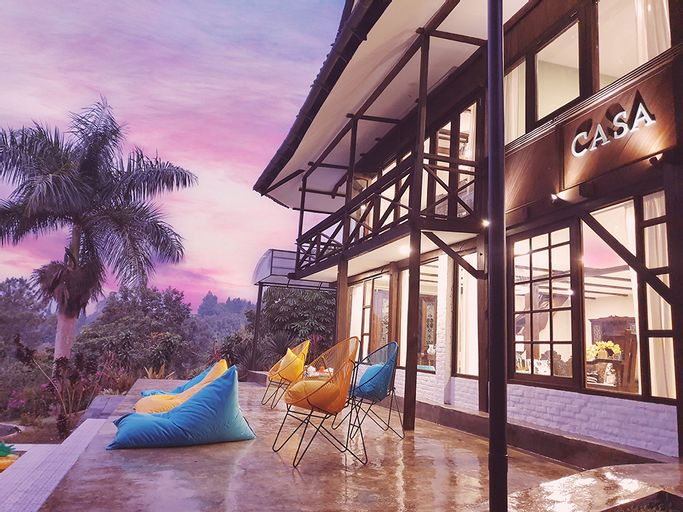 Villa Cassablanca - Luxury Bohemian Concept by The Villas 100, Bogor