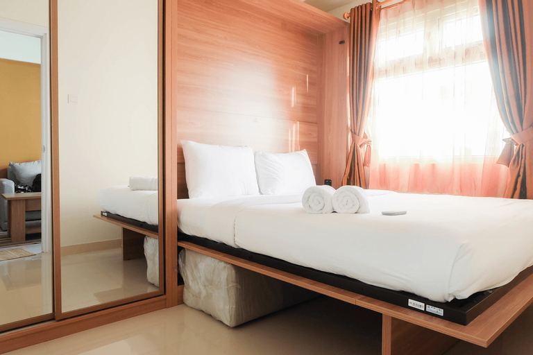 Fully Furnished and Comfortable 2BR Green Pramuka Apartment By Travelio, Central Jakarta
