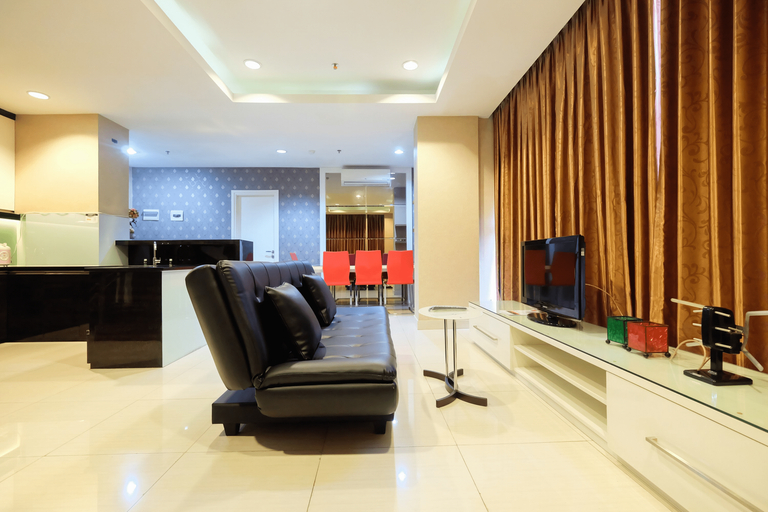 Penthouse 3BR Sunter Park View Apartment By Travelio, North Jakarta