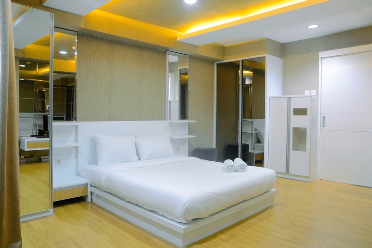 Cozy Studio Tamansari The Hive Apartment By Travelio, East Jakarta