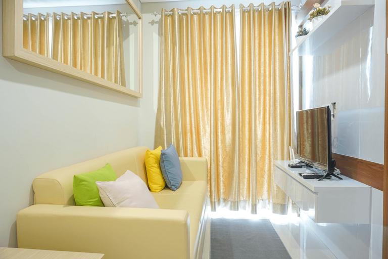 Contemporer 1BR Apartment @ Puri Mansion By Travelio, West Jakarta