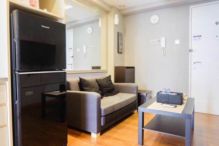 Exclusive and Spacious 1BR Apartment at Bassura City By Travelio, East Jakarta