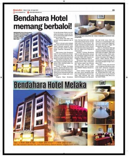 Hotel Bendahara @ Melaka City, Kota Melaka