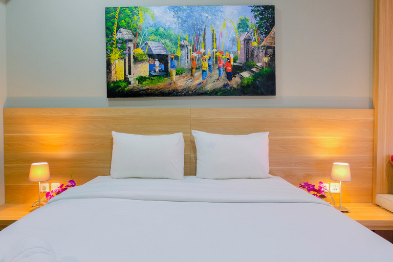 Stunning Studio Apartment at Mustika Golf Residence By Travelio, Cikarang