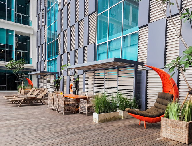 1BR Brooklyn Apartment near BINUS Alam Sutera By Travelio, Tangerang Selatan