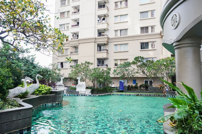 Ancol Marina 1BR Twin Bed Tower A By Travelio, Jakarta Utara