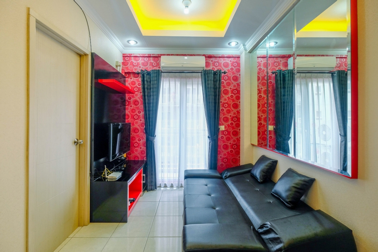 Comfy and Homey 2BR Grand Center Point Apartment By Travelio, Bekasi
