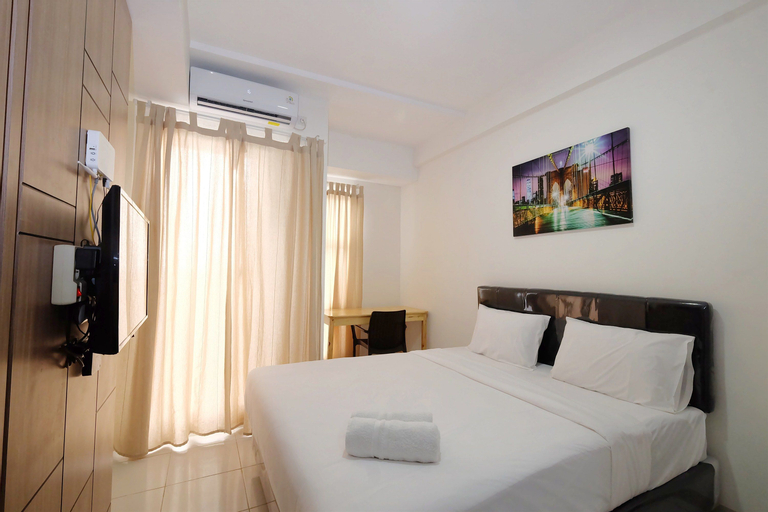 Brand New Studio Room Akasa Pure Living Apartment By Travelio, Tangerang Selatan
