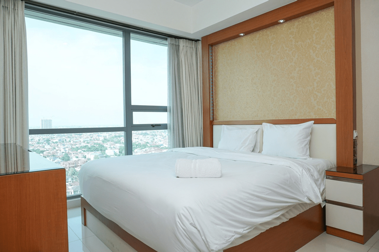Modern 2BR at St. Moritz Apartment near Shopping Mall By Travelio, Jakarta Barat