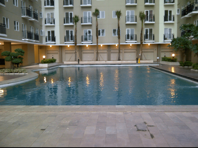 2BR Puri Park View Apartment with Balcony By Travelio, West Jakarta