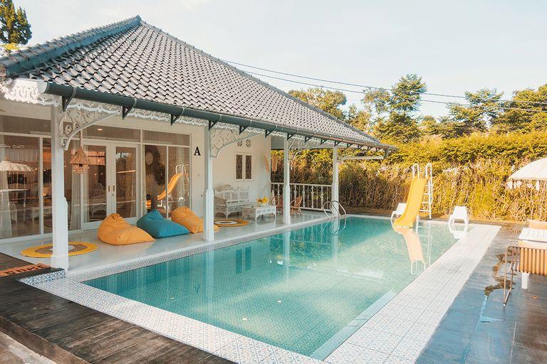 Villa Tiella - Pastel Fantasy, Gunung Mas 5min, Bogor