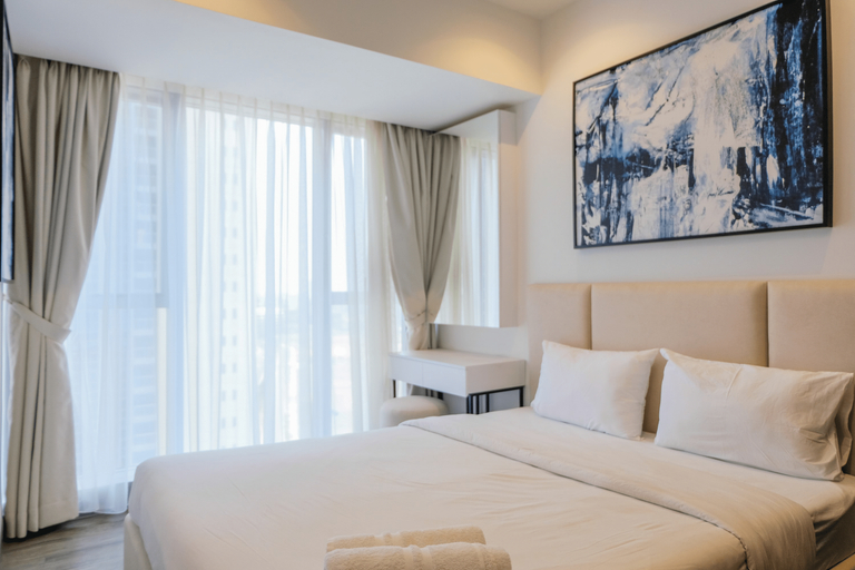 Brand New 2BR The Branz Apartment By Travelio, Tangerang