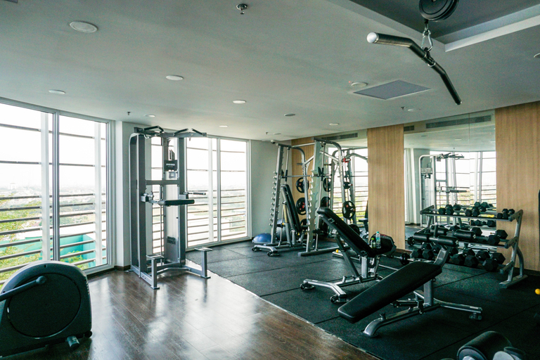 New Furnished Studio West Vista Apartment near Puri Indah By Travelio, West Jakarta