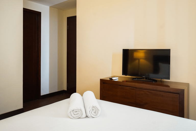 Ancol Marina 1BR Queen Bed Tower A By Travelio, Jakarta Utara