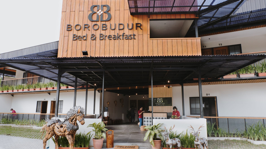 Borobudur Bed and Breakfast, Magelang
