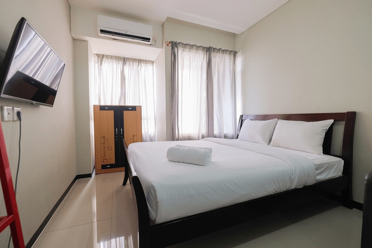 Garden View Studio at Nifarro Park Apartment By Travelio, South Jakarta