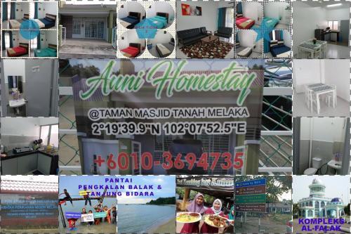 AuniHomestay @ Taman Masjid Tanah Melaka, Alor Gajah
