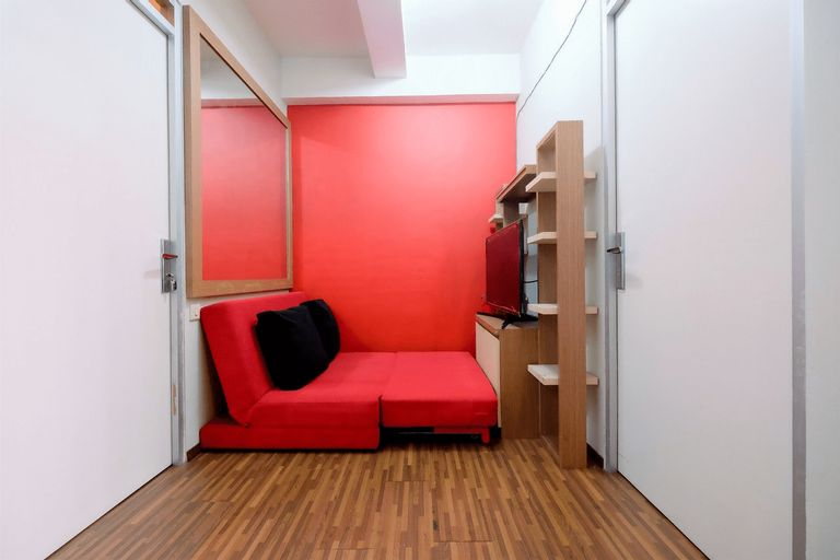 Homey 2BR at Menteng Square Apartment By Travelio, Jakarta Pusat