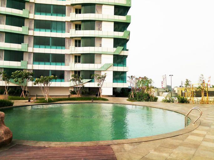 Comfortable Studio Apartment @ Grand Kamala Lagoon By Travelio, Bekasi