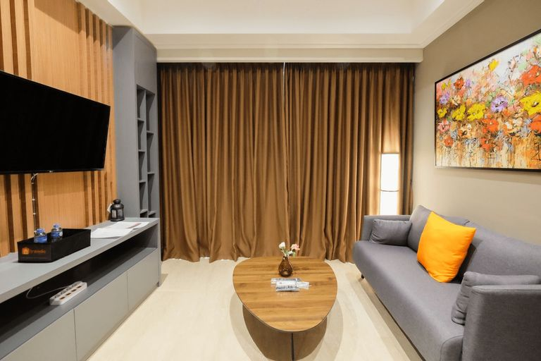 Comfortable and Modern 2BR Menteng Park Apartment By Travelio, Jakarta Pusat
