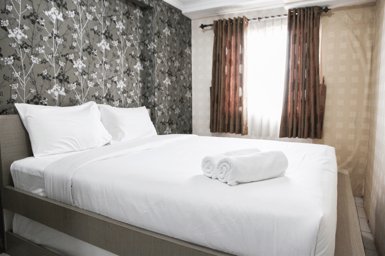 Homey 1BR @ Mutiara Bekasi Apartment By Travelio, Bekasi