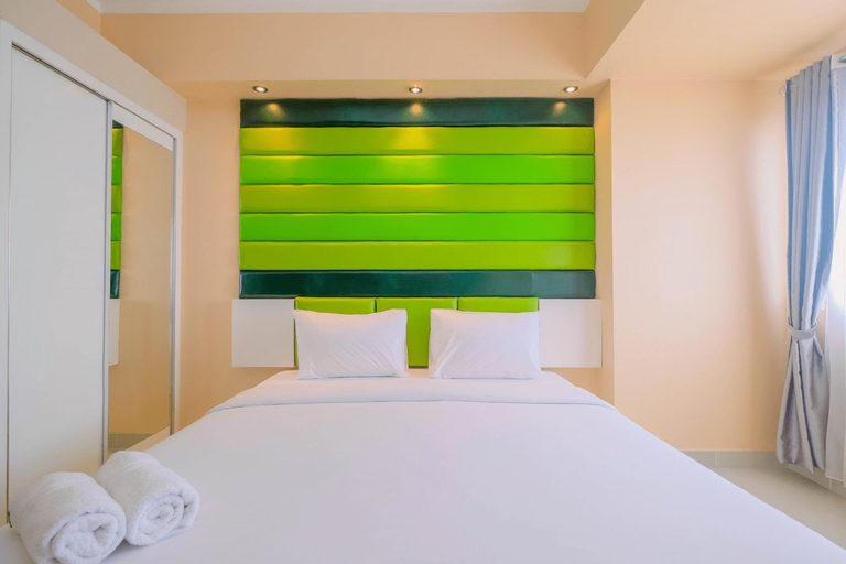 Highest Value Studio Apartment at The Oasis Cikarang By Travelio, Cikarang