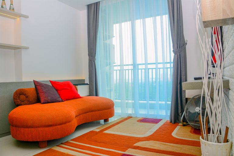 Modern 3BR Apartment at Springhill Terrace Residence By Travelio, Central Jakarta