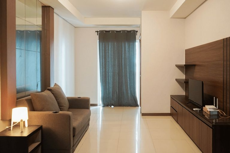 Sea View 2BR Apartment at Green Bay Condominium By Travelio, Jakarta Utara