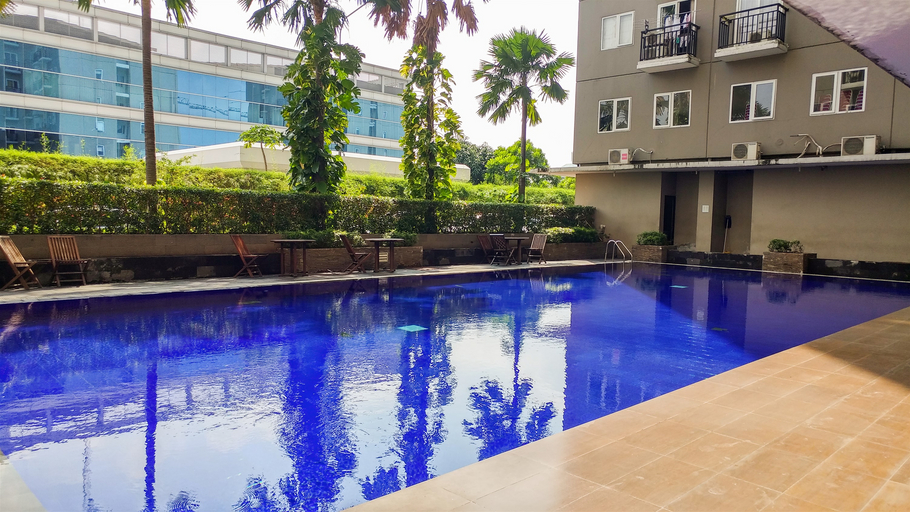 Great Location Sunter Park View Studio Apartment By Travelio, North Jakarta