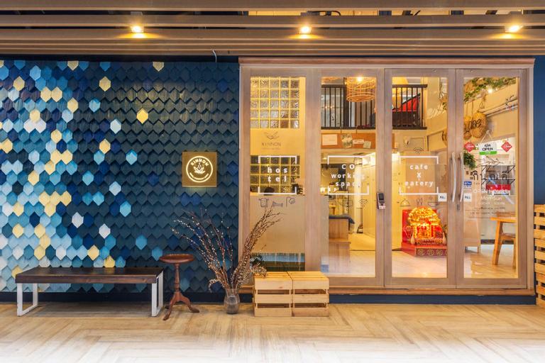 Kinnon Deluxe Hostel Coworking Cafe, Bang Rak