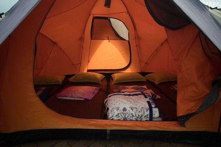 Camping at The Villa Unique, Bandung