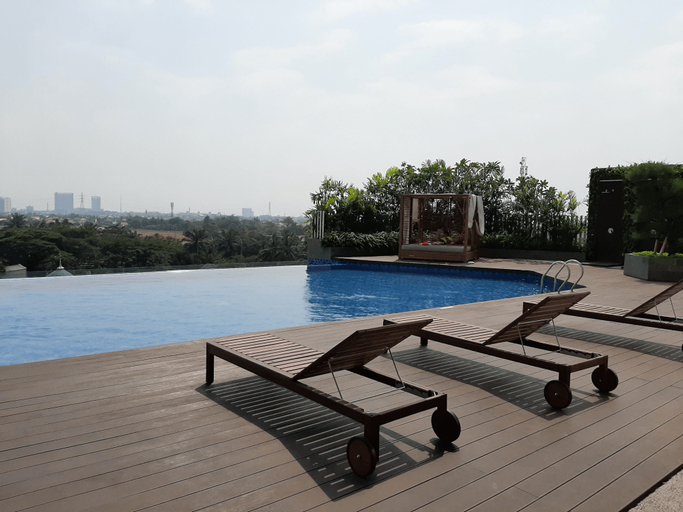 Clean and Tidy Studio Apartment at Springwood Residence By Travelio, Tangerang