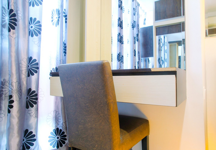 City View 1BR at GP Plaza Apartment By Travelio, Central Jakarta