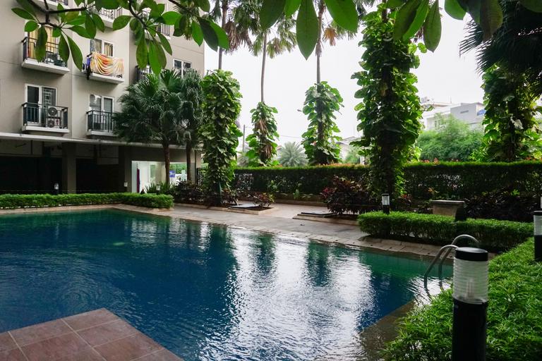 Modern 2BR Puri Park View Apartment Near Lippo Puri By Travelio, West Jakarta