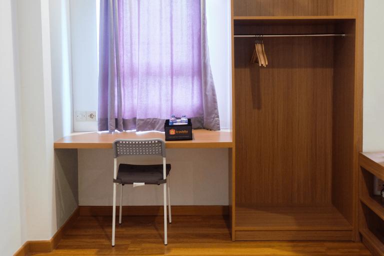 Studio at Grand Center Point Apartment By Travelio, Bekasi