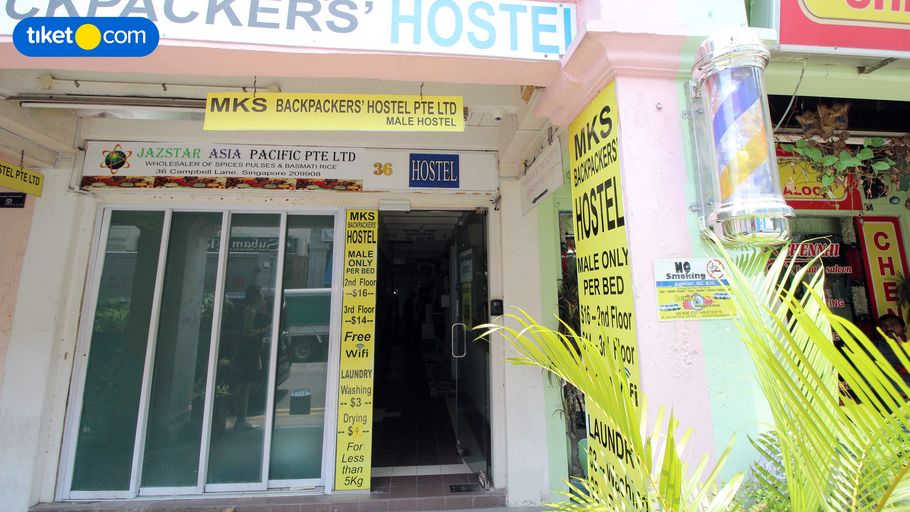 MKS Backpackers Hostel - Campbell Lane, Rochor