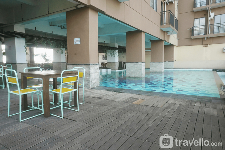 Minimalist Studio Apartment at Tamansari Panoramic Apartment By Travelio, Bandung